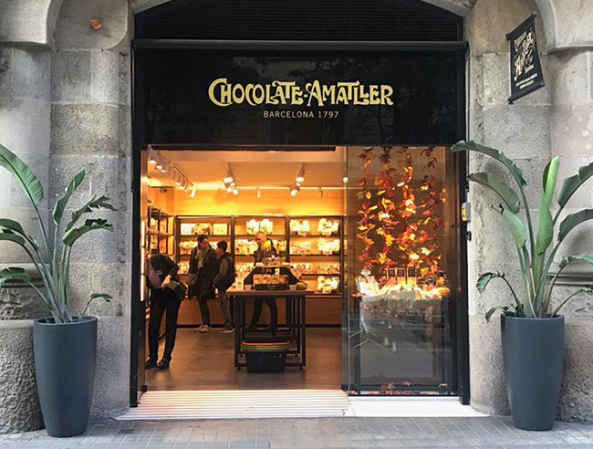 THE NEW AMATLLER SHOP IN THE HEART OF BARCELONA