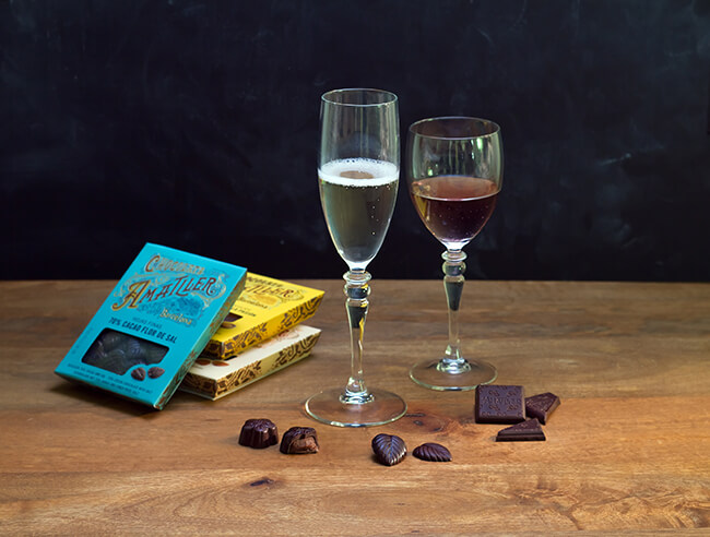 LEARN HOW TO PAIR CHOCOLATE – WINES & SPARKLING WINES