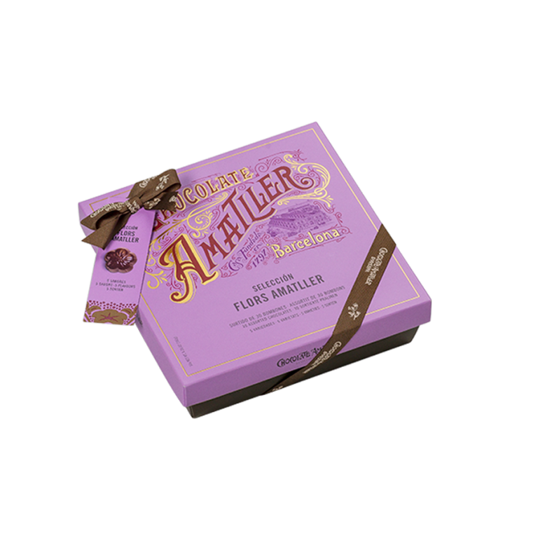 Amatller Flowers selection box 180g